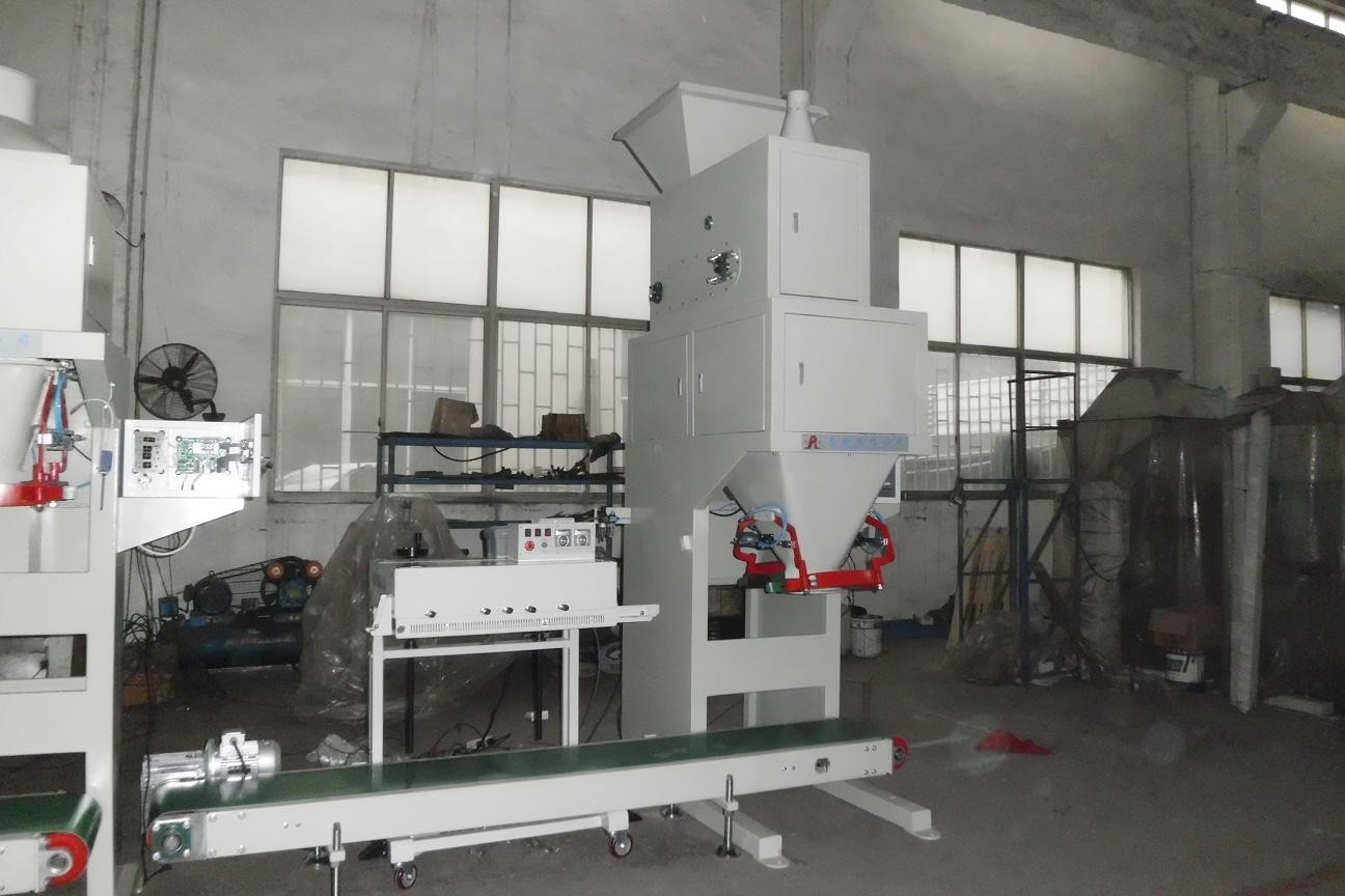 Feed Bagger Horizontal Bagging Machine With Auto Filling System