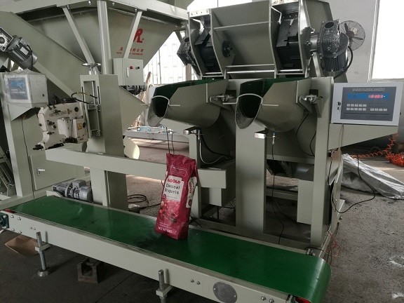 550 - 700 Bags / Hour Charcoal Packing Machine 3.8KW Coal Bagging Plant