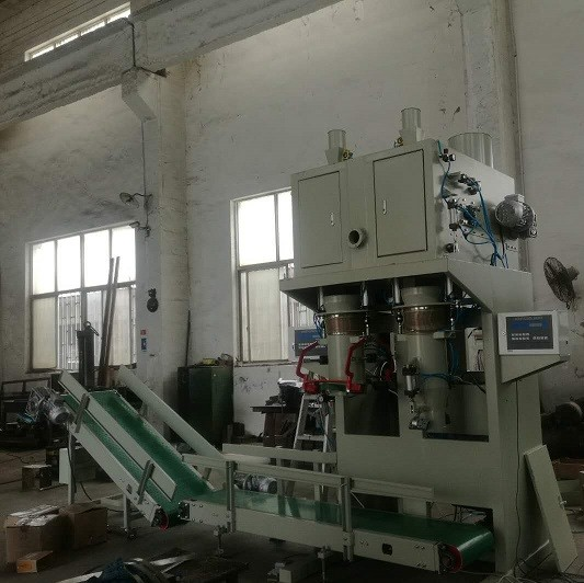 Special Design Auto Bagging Machines For Calcium Carbide PP Woven Bags